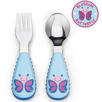 Skip*Hop Zootensils Fork & Spoon - Butterfly