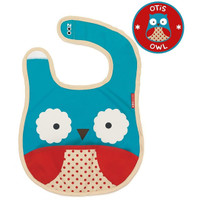 Skip*Hop Zoo Tuck Away Bibs - Owl
