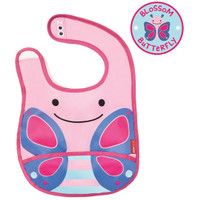 Skip*Hop Zoo Tuck Away Bibs - Butterfly