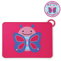 Skip*Hop Zoo Fold & Go Silicone Placemat - Butterfly