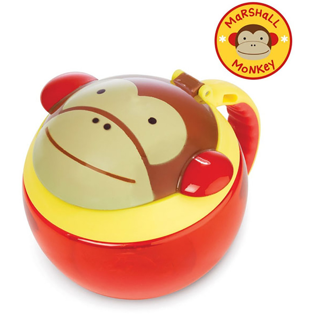 Skiphop Zoo Snack Cups Monkey