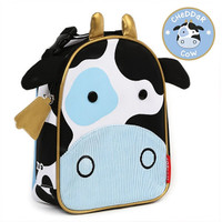 Skip*Hop Zoo Lunchie Insulated Kids Lunch Bag - Cow