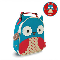 Skip*Hop Zoo Lunchie Insulated Kids Lunch Bag - Owl