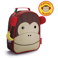 Skip*Hop Zoo Lunchie Insulated Kids Lunch Bag - Monkey