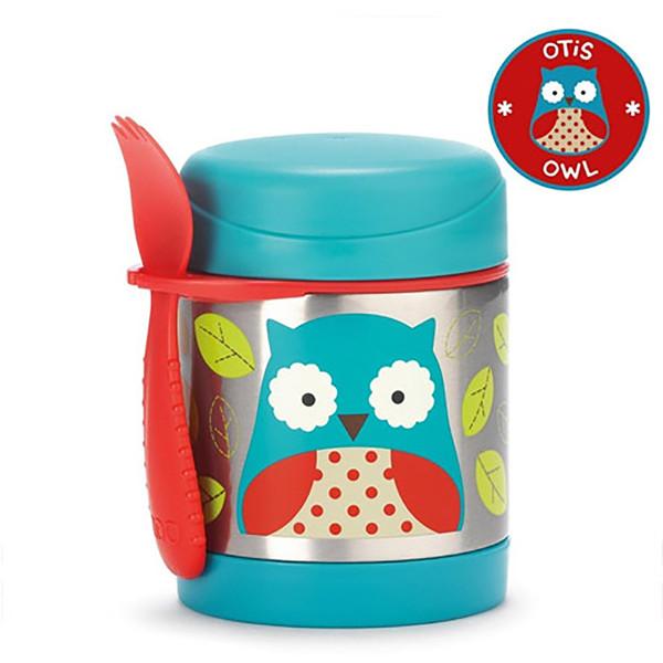 Skip*Hop Zoo Insulated Food Jar - Owl
