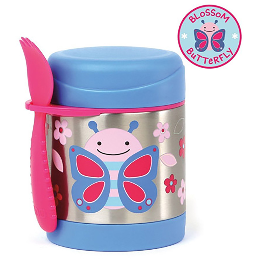 Skip*Hop Zoo Insulated Food Jar- Butterfly