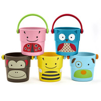 Skip*Hop Zoo Stack & Pour Buckets