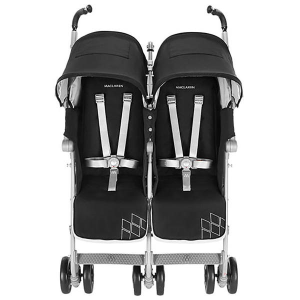 Maclaren Twin Techno Stroller - Black