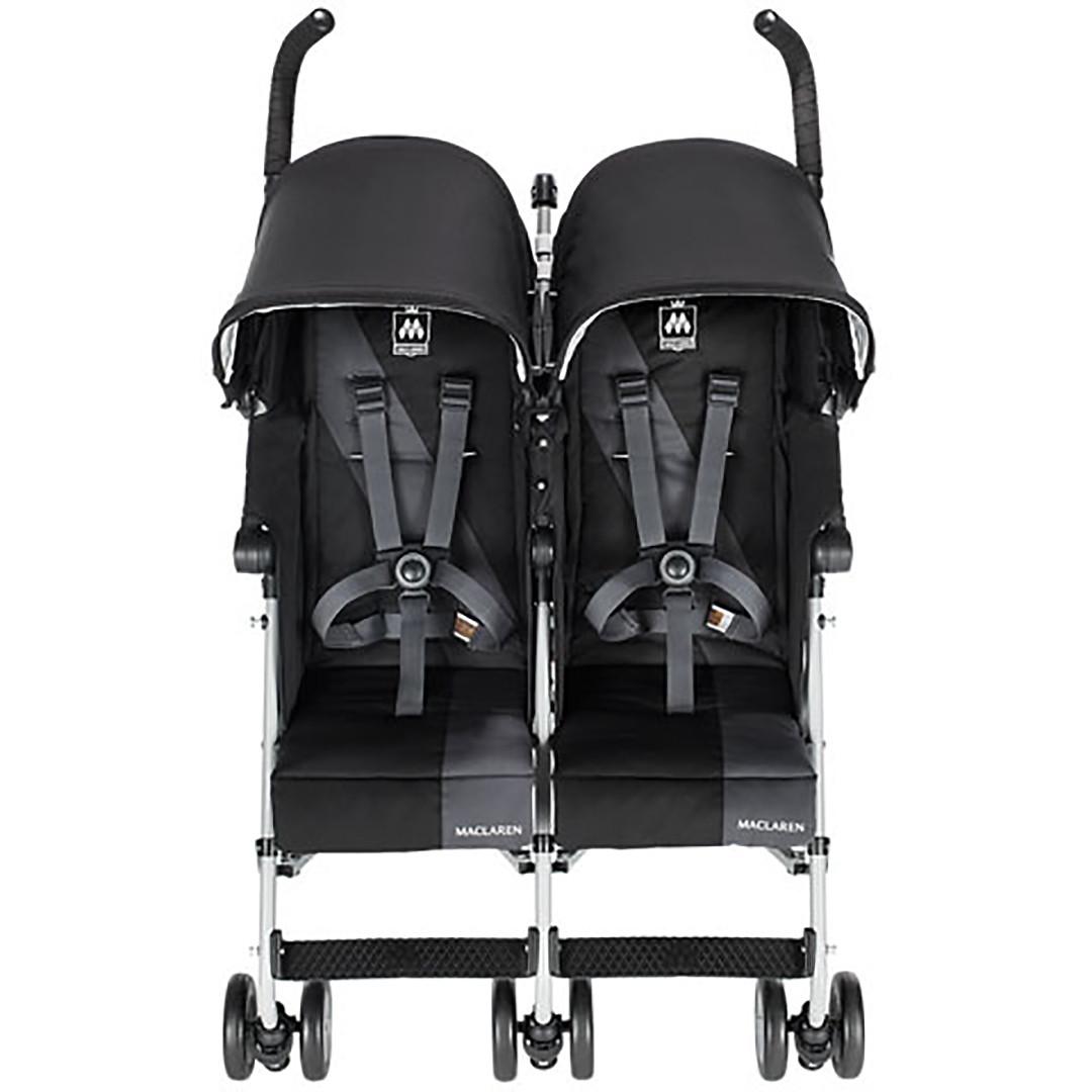Maclaren Twin Triumph - Black/Charcoal