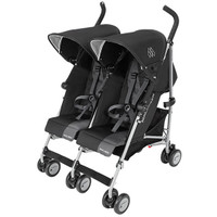 Maclaren Twin Triumph - Black/Charcoal