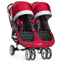 Baby Jogger City Mini Double - Crimson
