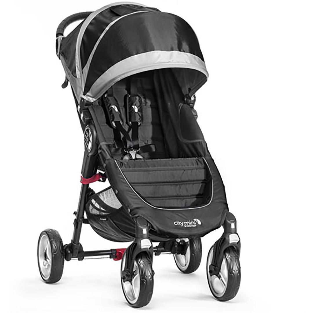 Baby Jogger City Mini Single 4-Wheel - Black