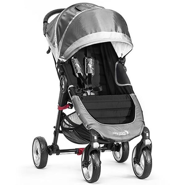Baby Jogger City Mini Single 4-Wheel - Steel Grey