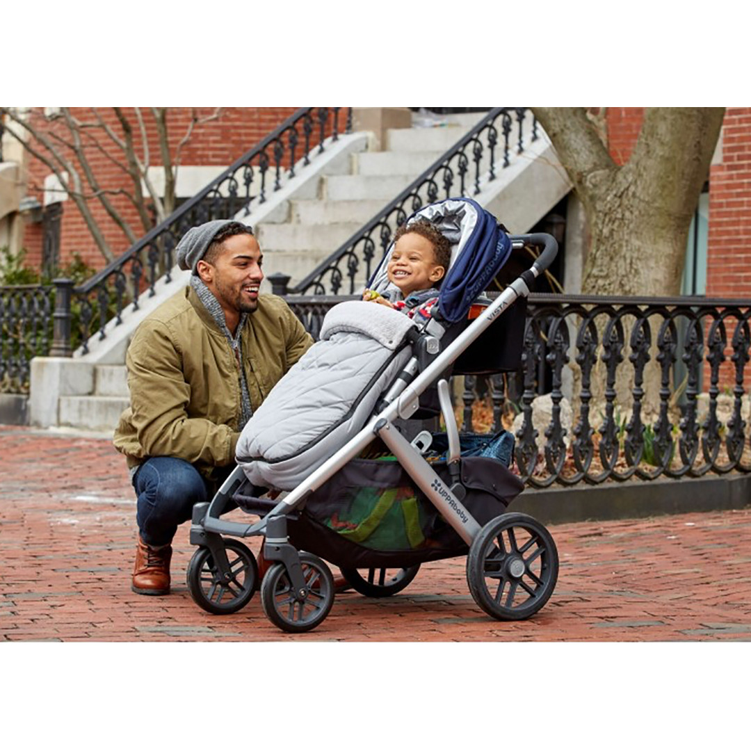 UPPAbaby Cozy Ganoosh Footmuff - Grey