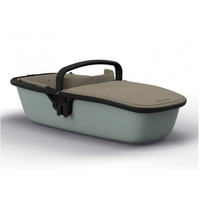 Quinny Zapp Lux Carrycot - Sand on Grey