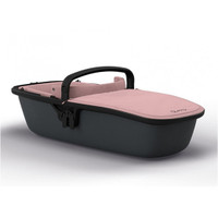 Quinny Zapp Lux Carrycot - Blush on Graphite