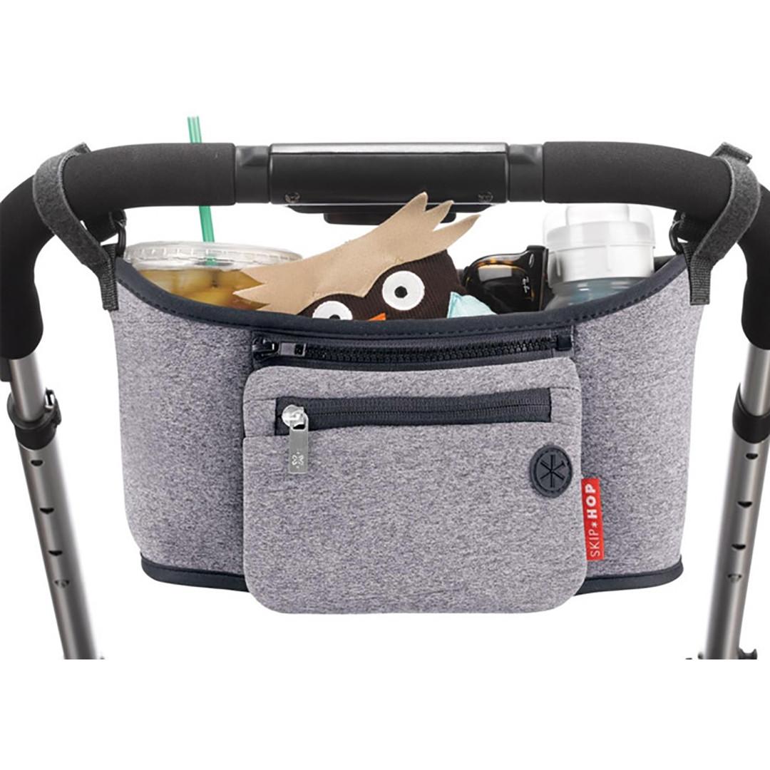 Skip*Hop Grab & Go Stroller Organiser - Grey