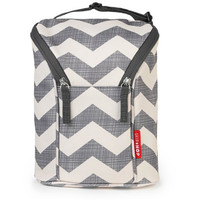 Skip*Hop Grab & Go Double Bottle Bag - Chevron