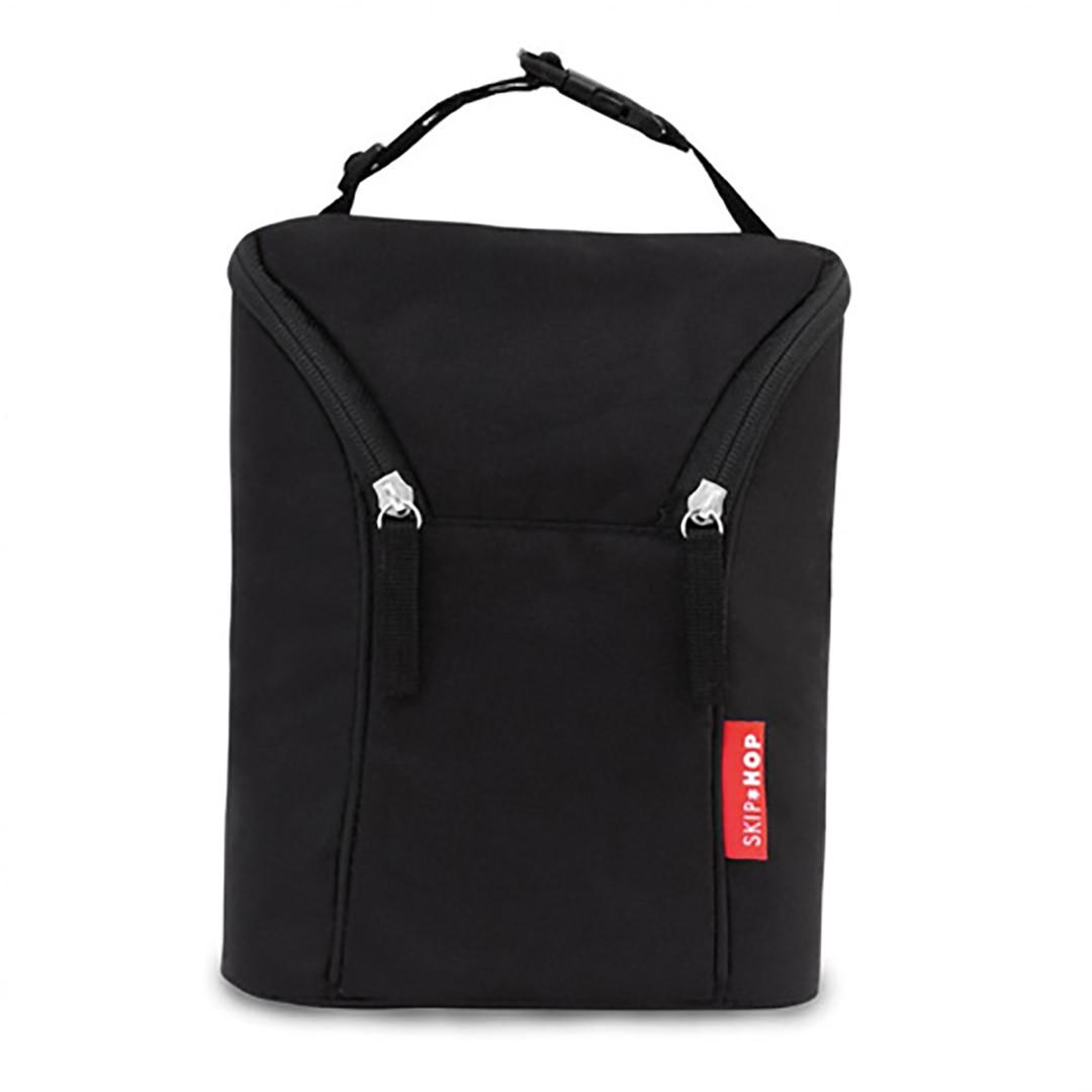 Skip*Hop Grab & Go Double Bottle Bag - Black