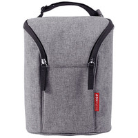 Skip*Hop Grab & Go Double Bottle Bag - Grey