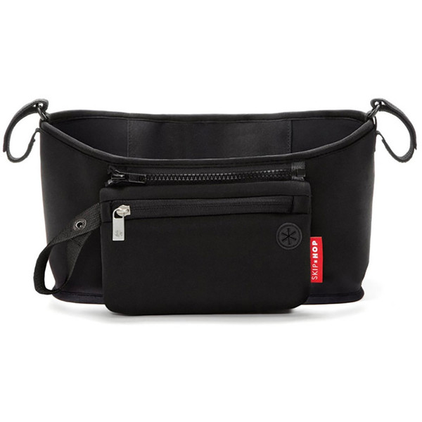 Skip*Hop Grab & Go Stroller Organiser - Black