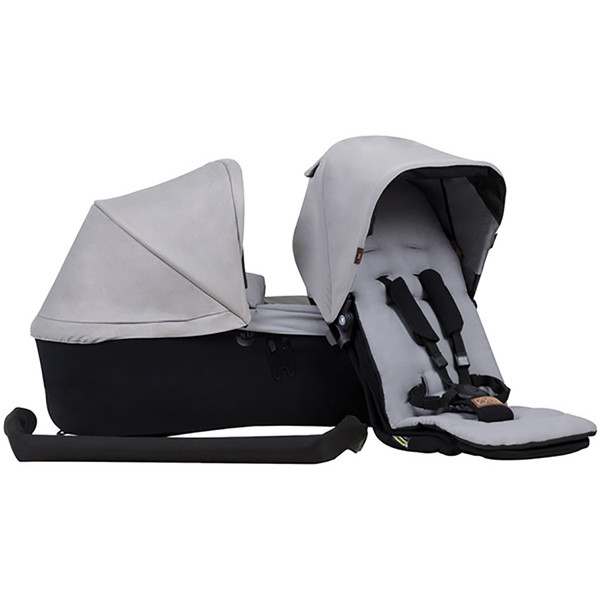 Mountain Buggy Family Pack for the Duet Single- Silver