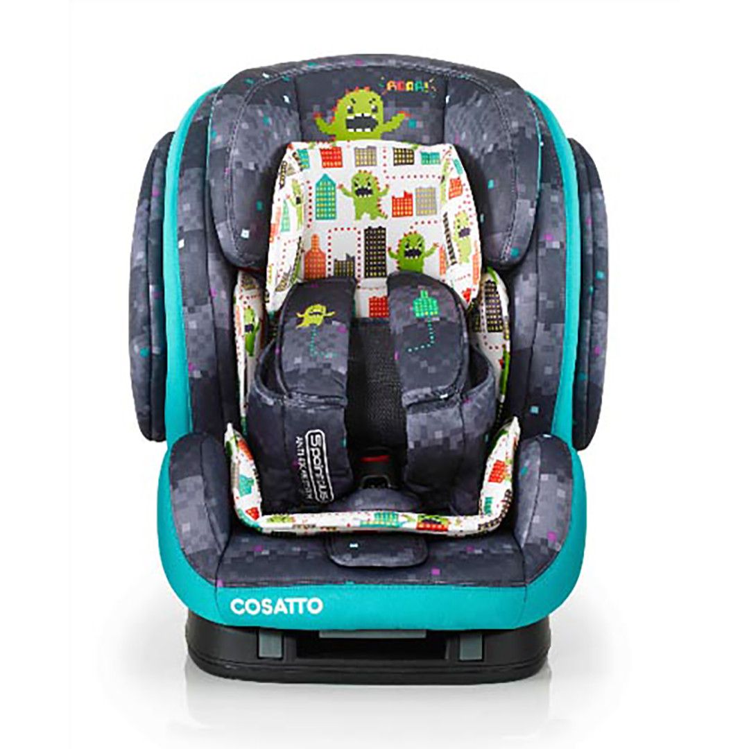 Cosatto Hug Isofix Group Car Seat - Monster Arcade