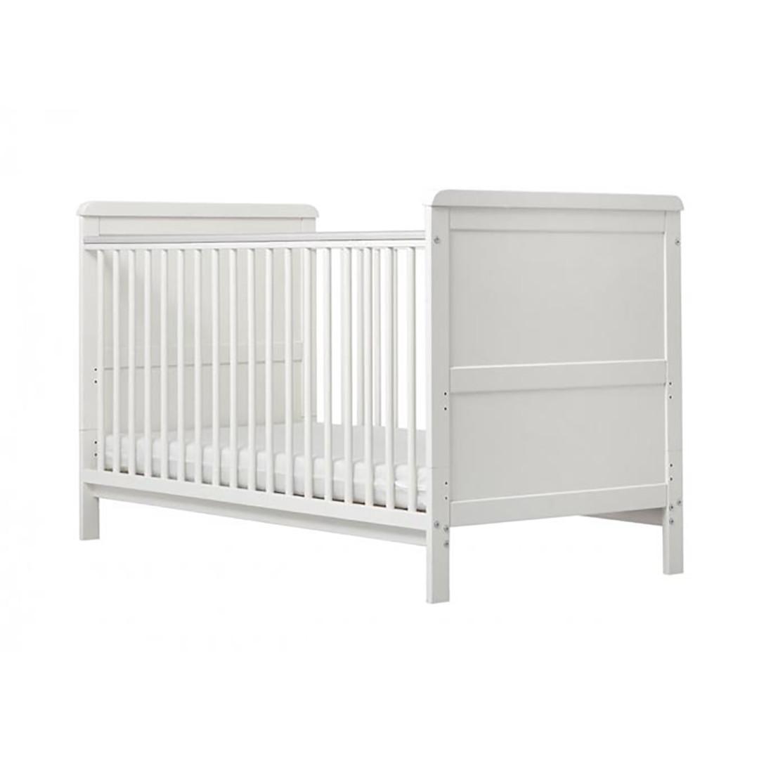 Alex Cot Bed - White