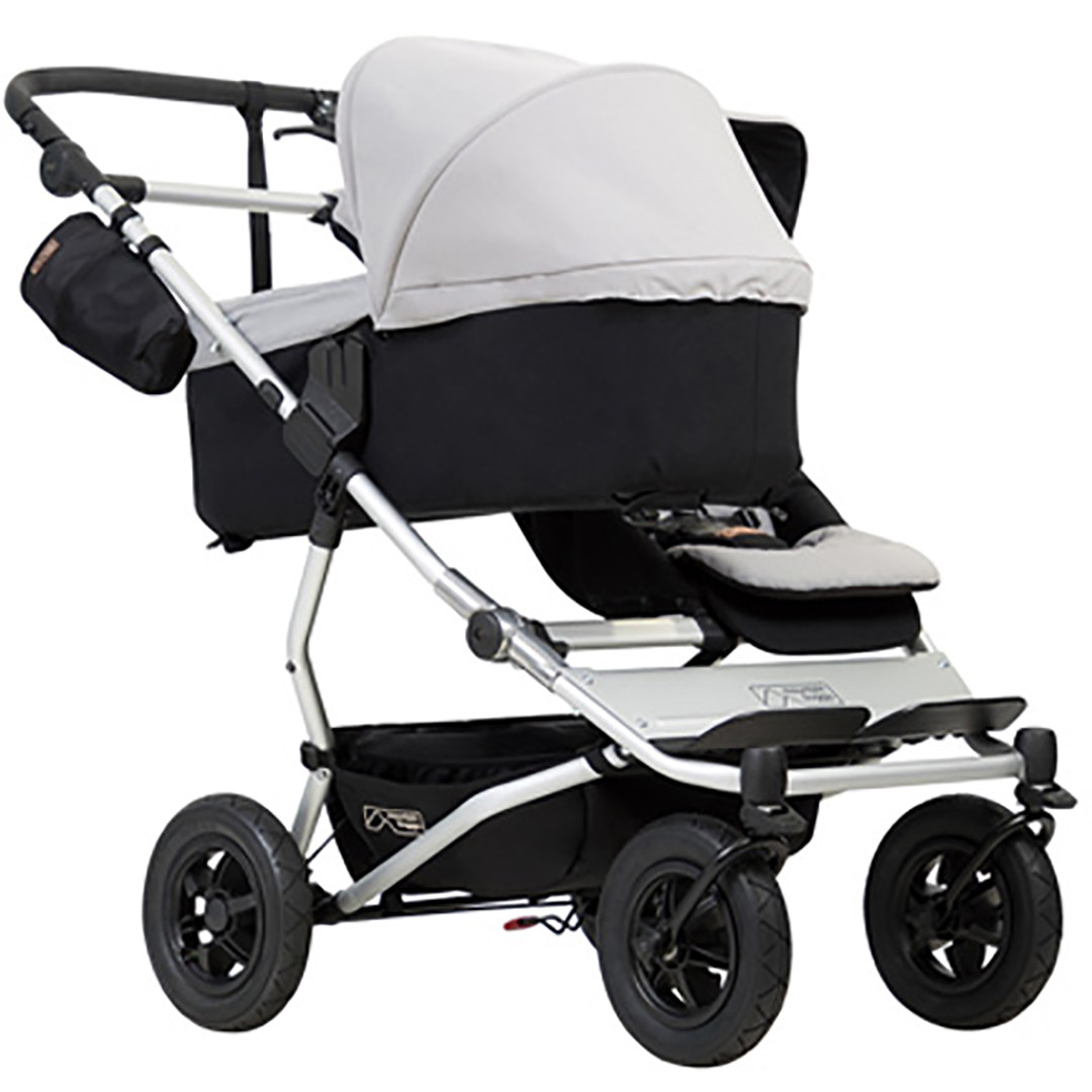Mountain Buggy Duet Carrycot -Silver