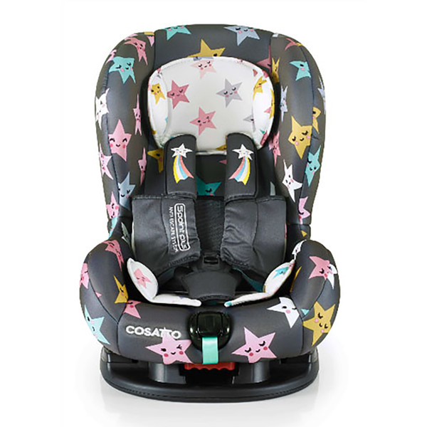 Cosatto Moova 2 Group 1 Car Seat - Happy Hush Stars