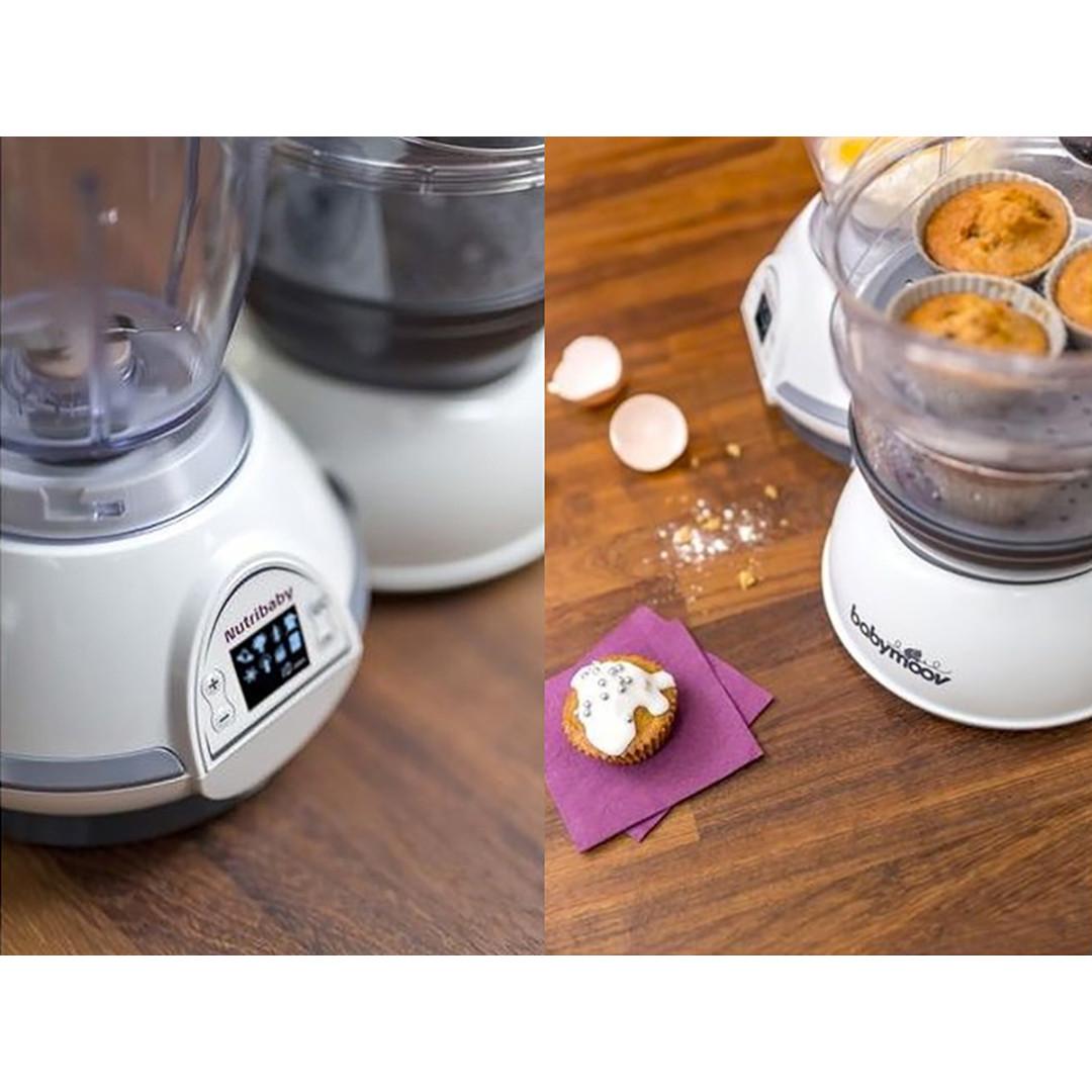 Babymoov Nutribaby Food Processor- Cream & Grey