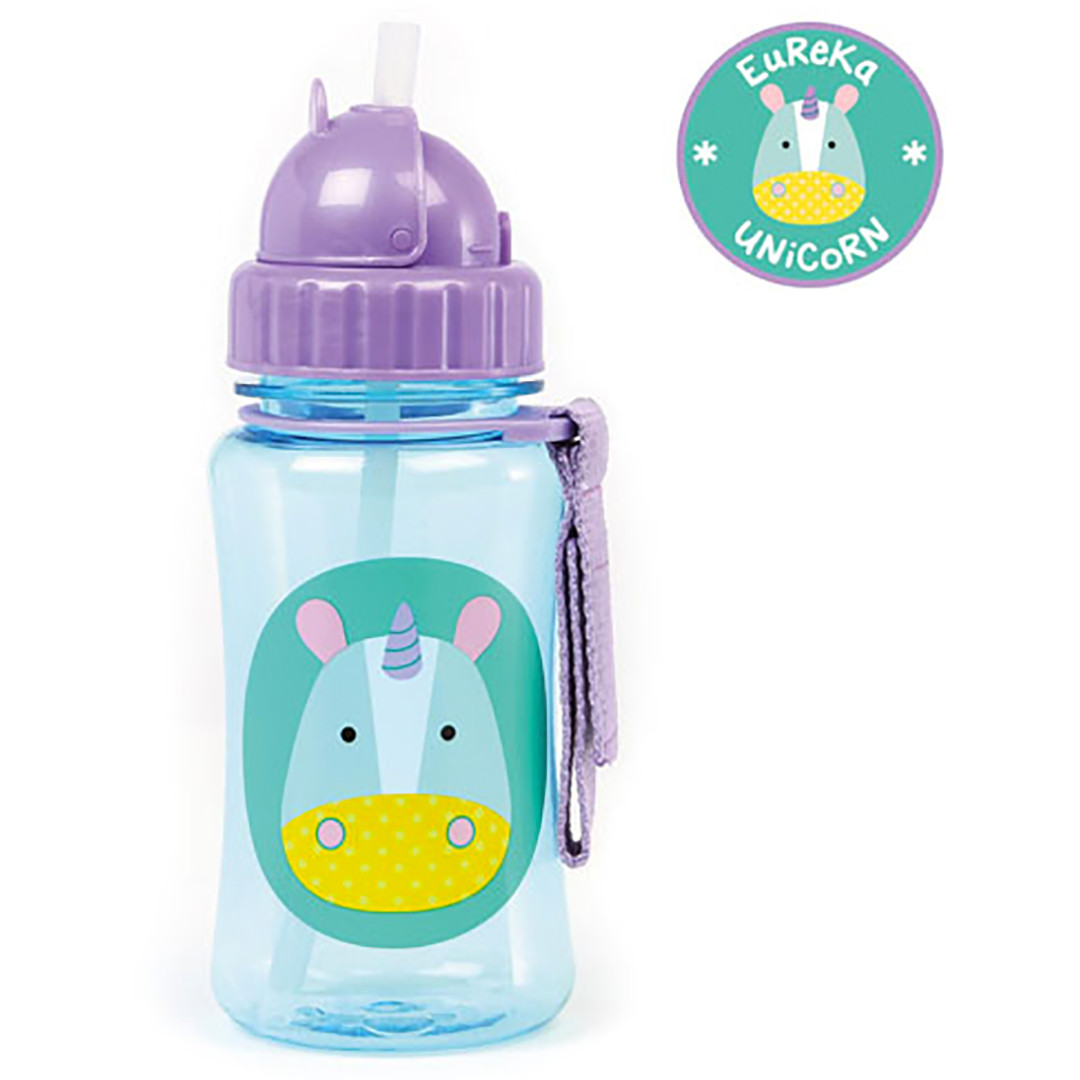 Skip*Hop Zoo Straw Bottles - Unicorn