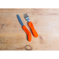 Nanas Manners Cutlery Jeddie Orange