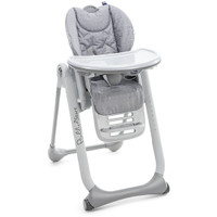 Chicco Polly 2 Start Highchair - Happy Silver.