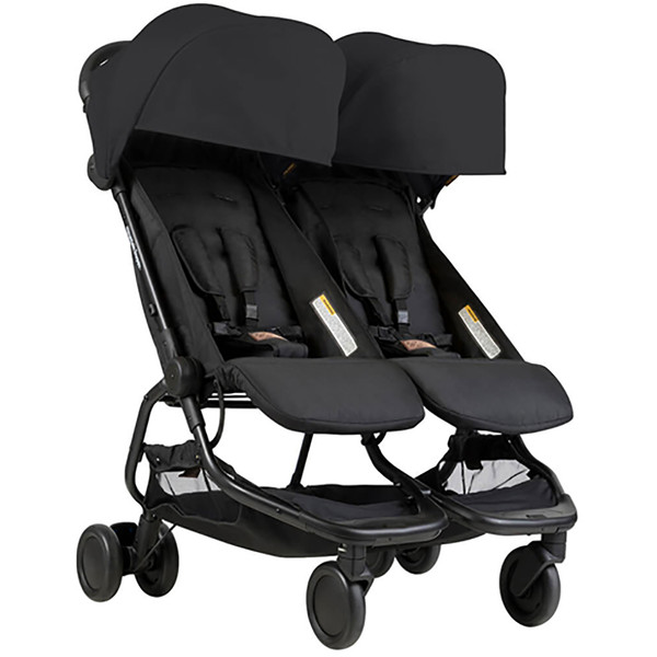 Mountain Buggy Nano Duo- Black