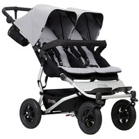 Mountain Buggy Duet- Silver