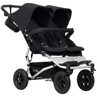 Mountain Buggy Duet + Carrycot- Black