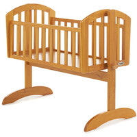 OBaby Sophie Swinging Crib- Country Pine