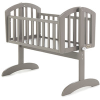OBaby Sophie Swinging Crib- Taupe Grey