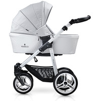 Venicci Pure Edition Travel System - Stone Grey  + FREE ISOFIX BASE