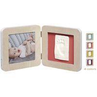 My Baby Touch Rounded Single Print Frame- Scandinavian Wood
