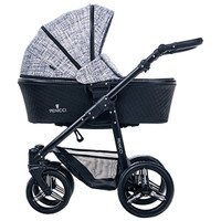 Venicci Prestige Edition Shadow 3 in 1 Travel System- Fashion Black