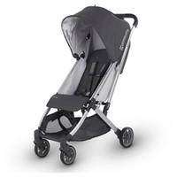 Uppababy Minu Stroller- Jordan- Black Leather