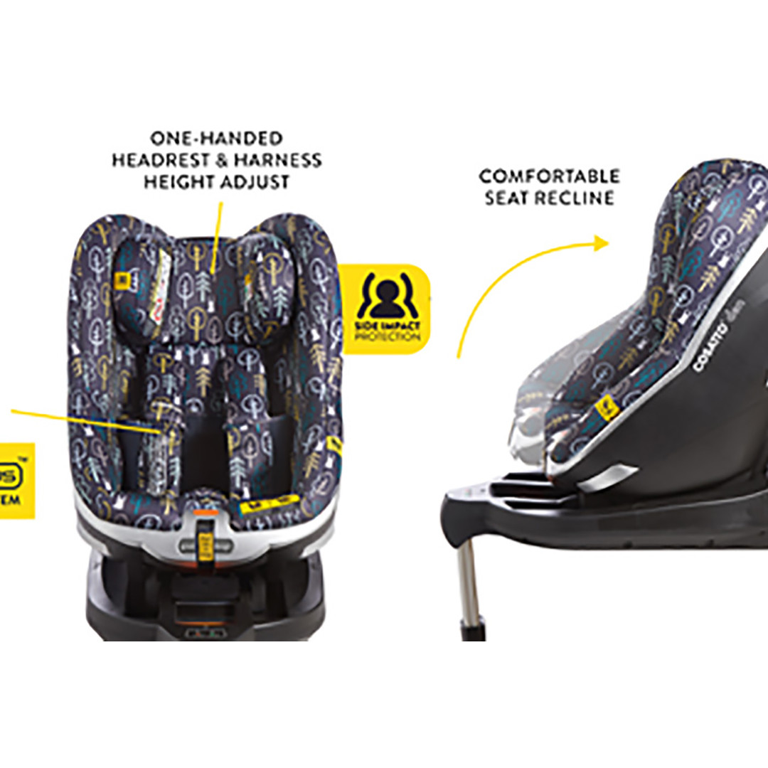 Cosatto Den i-Size Car Seat- Hop To It