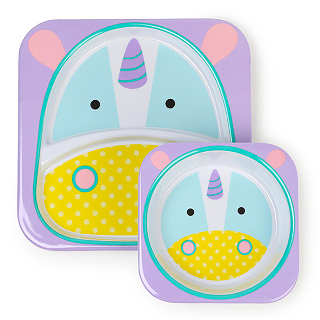 Skip*Hop Plate+Bowl Set - Unicorn