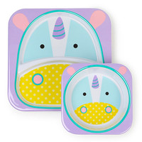 Skip*Hop Plate+Bowl Set - Unicorn