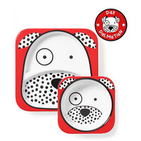 Skip*Hop Plate+Bowl Set - Dalmation