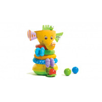 Tiny Love Musical Stack & Ball Game - Elephant