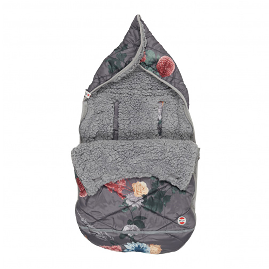 Lodger Mini Bunker Car Seat Footmuff - Peony