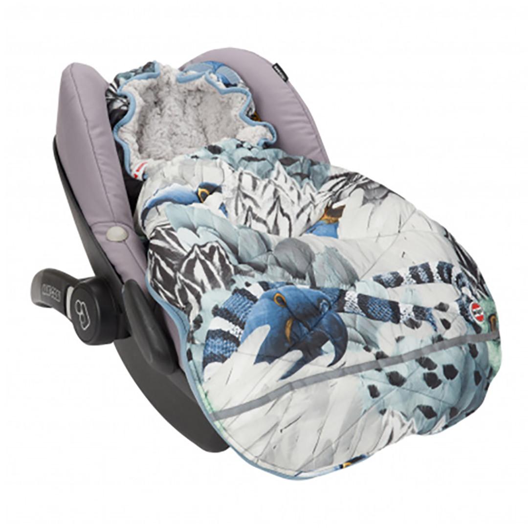 Pacapod Mini Bunker Car Seat Footmuff - Heron